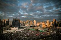 Protests in Sao Paulo