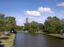 How can you have a dutch town without a windmill?