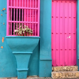Painted houses, Cartagena