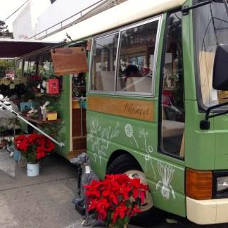 Flower bus, Usaquen, Bogota