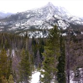 Amazing view of the Rocky Mountains at Estes Park