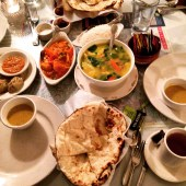 Trying Nepalese Food for the first time in my life at Boulder's Sherpa's Restaurant