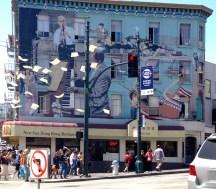 street art, chinatown, San Francisco walk