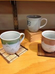 Cute pottery at Shiki