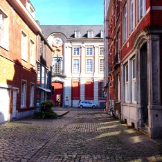 Leuven streets, Belgium