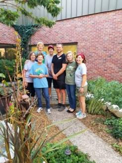 Extension Office Teaching Garden Crew