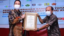 Pemkab Kudus Raih Penghargaan Bidang Pengelolaan Sanitasi dari Kementerian Kesehatan