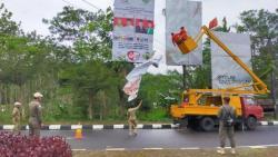 Masa Tenang, Sebanyak 8.534 APK di Kabupaten Semarang Ditertibkan