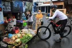 Gubernur Ganjar Langsung Patroli di Penjuru Kota Semarang Sosialisasikan Prokes di Hari Pertama PPKM
