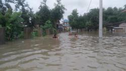 Banjir Landa Sejumlah Wilayah di Sukoharjo