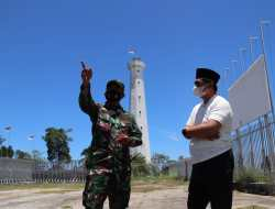 Kunjungi Pos Lintas Batas Negara Skouw, Taj Yasin Berbagi Cerita dengan Petugas yang Bersiaga