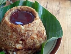 Kenikmatan Makanan Khas Jawa. Tiwul Lava Merapi di Sekitar Candi Borobudur Kian Digemari