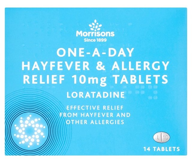 Morrisons One A Day Hay Fever Relief Tablets  Per Pack