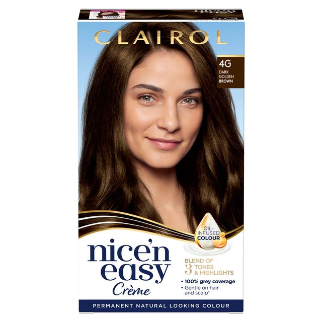 Nice N Easy Light Brown Hair Dye