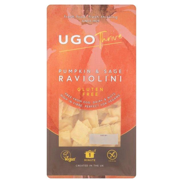 Ugo Thrive Gluten Free Pumpkin & Sage Raviolini | Morrisons