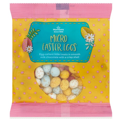 Morrisons Milk Chocolate Micro Eggs