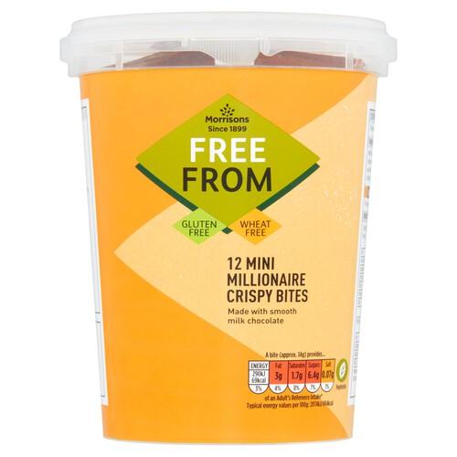 Morrisons Free From Millionaire Crispy Mini Bites
