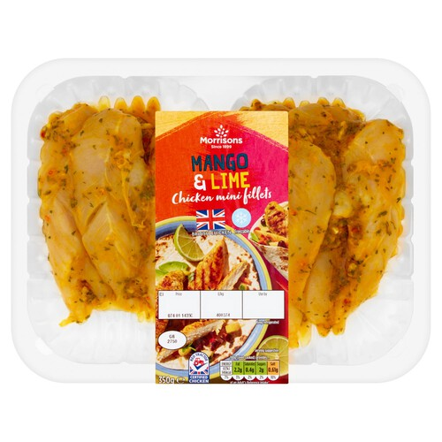 Morrisons Mango & Lime Chicken Mini Fillets