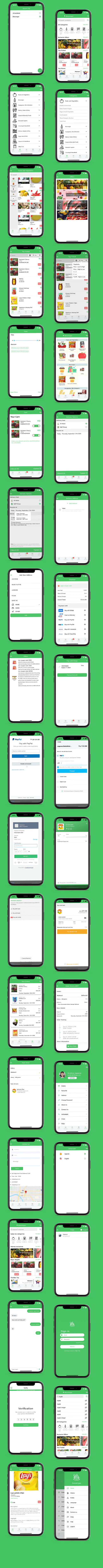 grocery / delivery services / ecommerce multi vendors(Android + iOS + Website) ionic 5 / CodeIgniter - 20