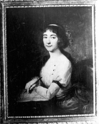 Julia z Grocholskich Poniatowska (1773-1832), Córka Franciszka - Miecznika, mal. Józef Pitschmann