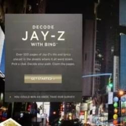 Bing | Decode Jay-Z Case Study