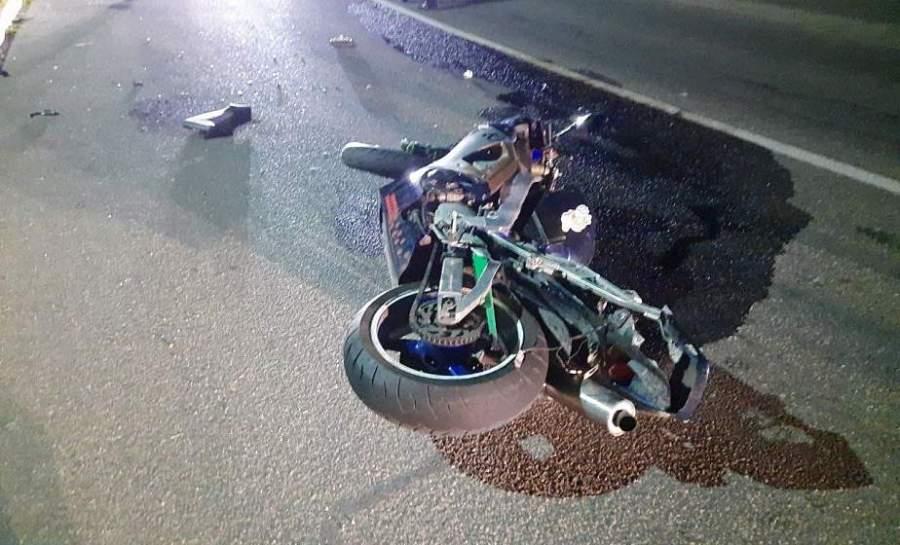 В Зельвенском районе мотоциклист скончался после ДТП