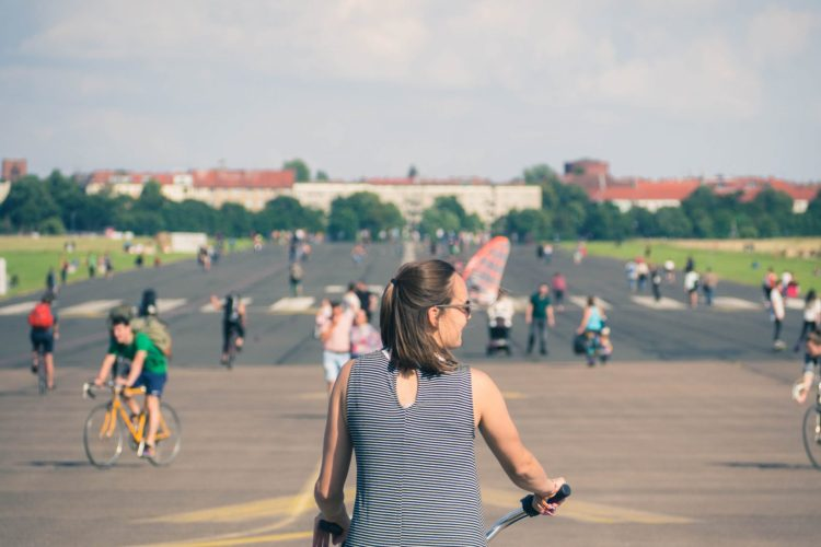 Fietsen Tempelhof Duurzaam Berlijn