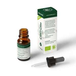 CBD Olie Raw 5% Naturel 10ml van MediHemp