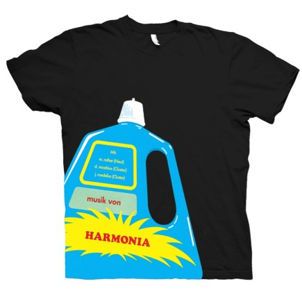 Harmonia, Harmonia Shirts, Merch, Shirts, Earth Positive, Vegan, black shirt, groenland, Grönland Records, Berlin