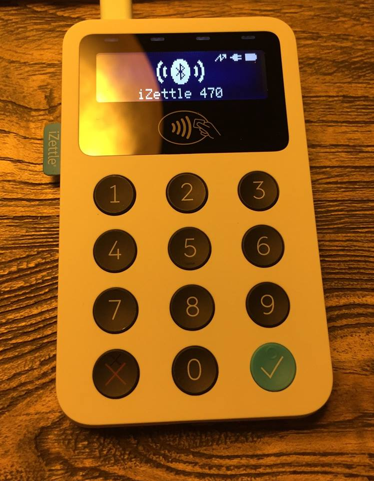 iZettle pin device