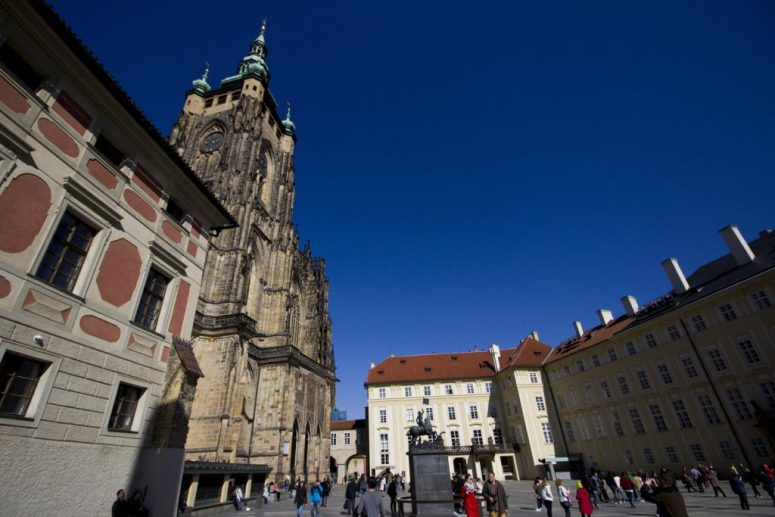 Klokkentoren Praag