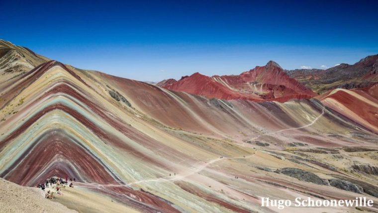 Rainbow Mountain foto