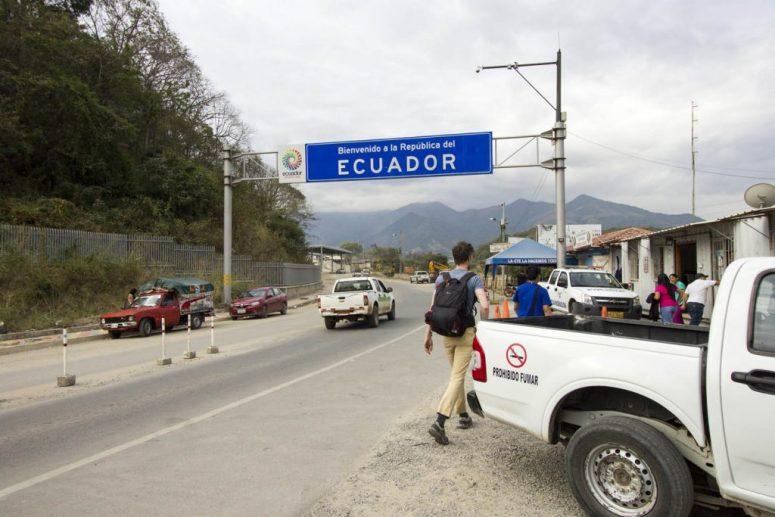 Grensovergang Ecuador