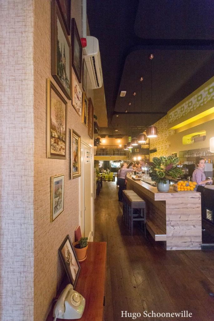 Restaurants in Leeuwarden: interieur Huize Kwast