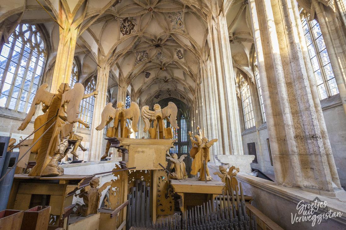Orgel St. Barbara Kutná Hora