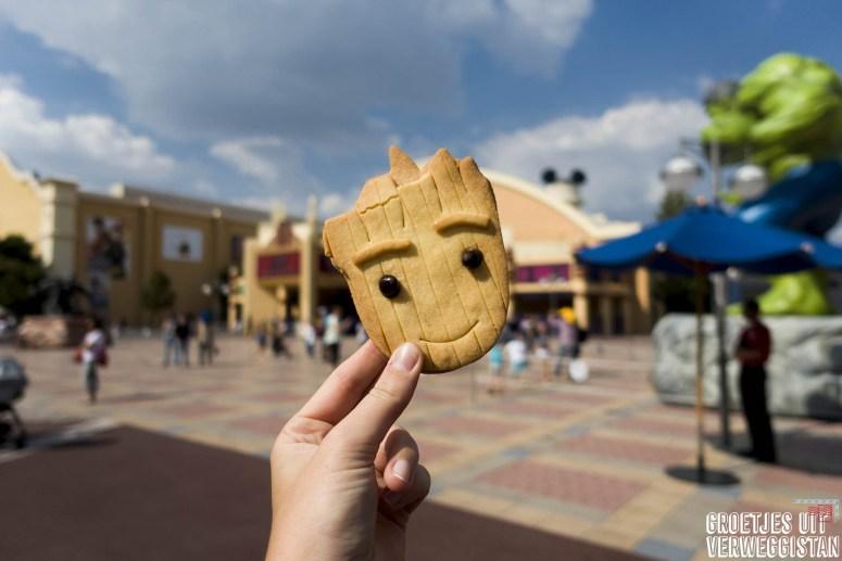 Groot cookie in Walt Disney Studios
