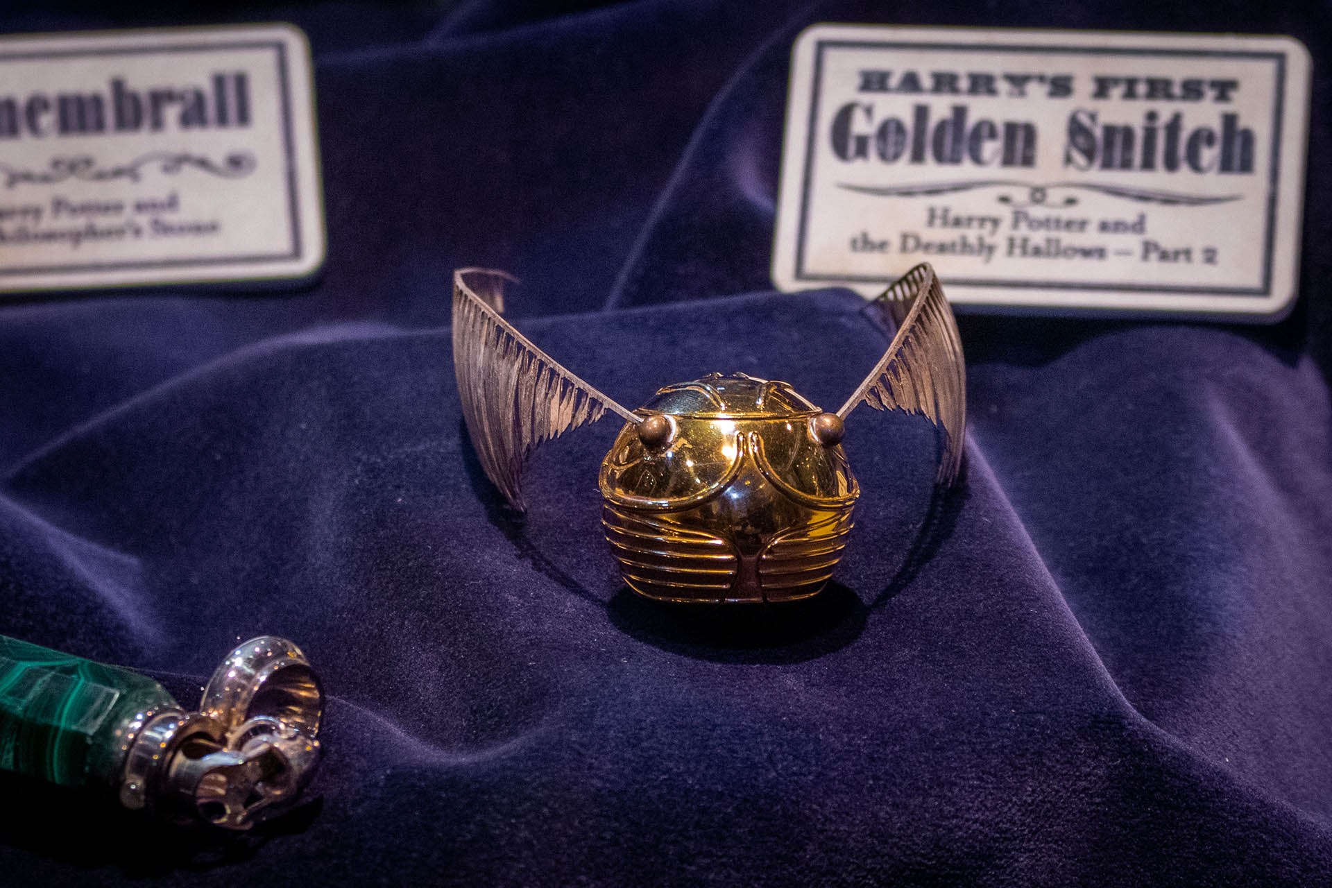 De Golden Snitch of Snaai in de Studio Tour