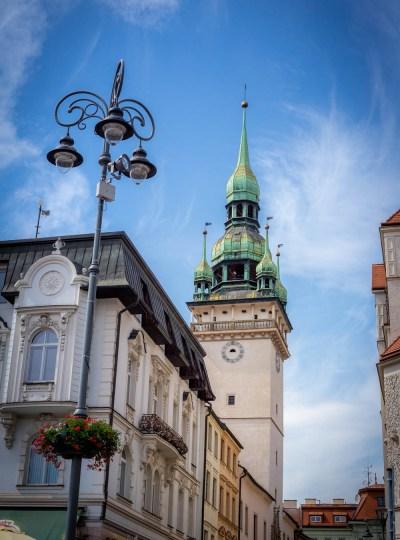 Kerktoren in Brno