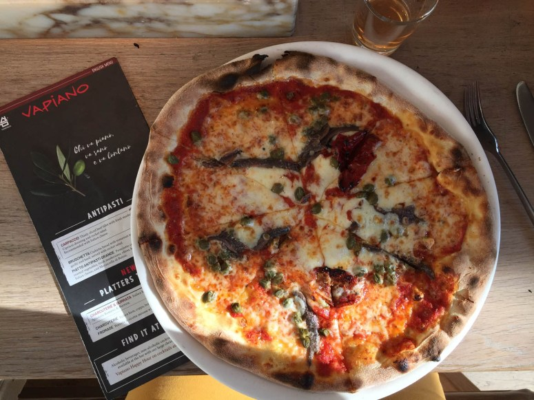 Pizza bij Vapiano