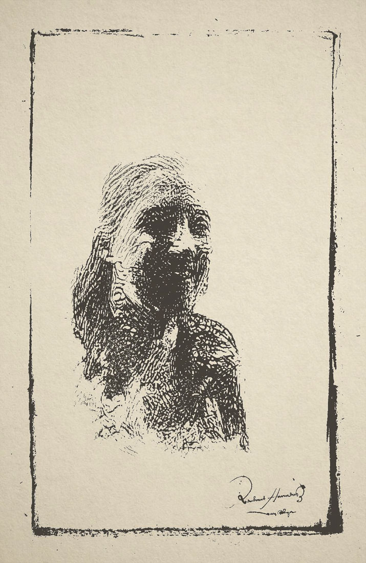 Manouk als schets van de Young Rembrandt School