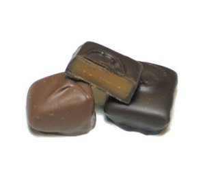 Home Made Chocolate Coated Caramels