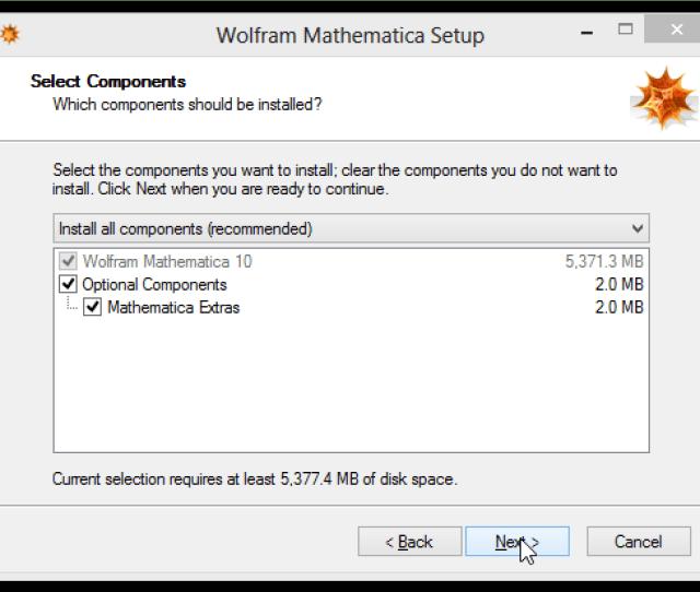 Components Window