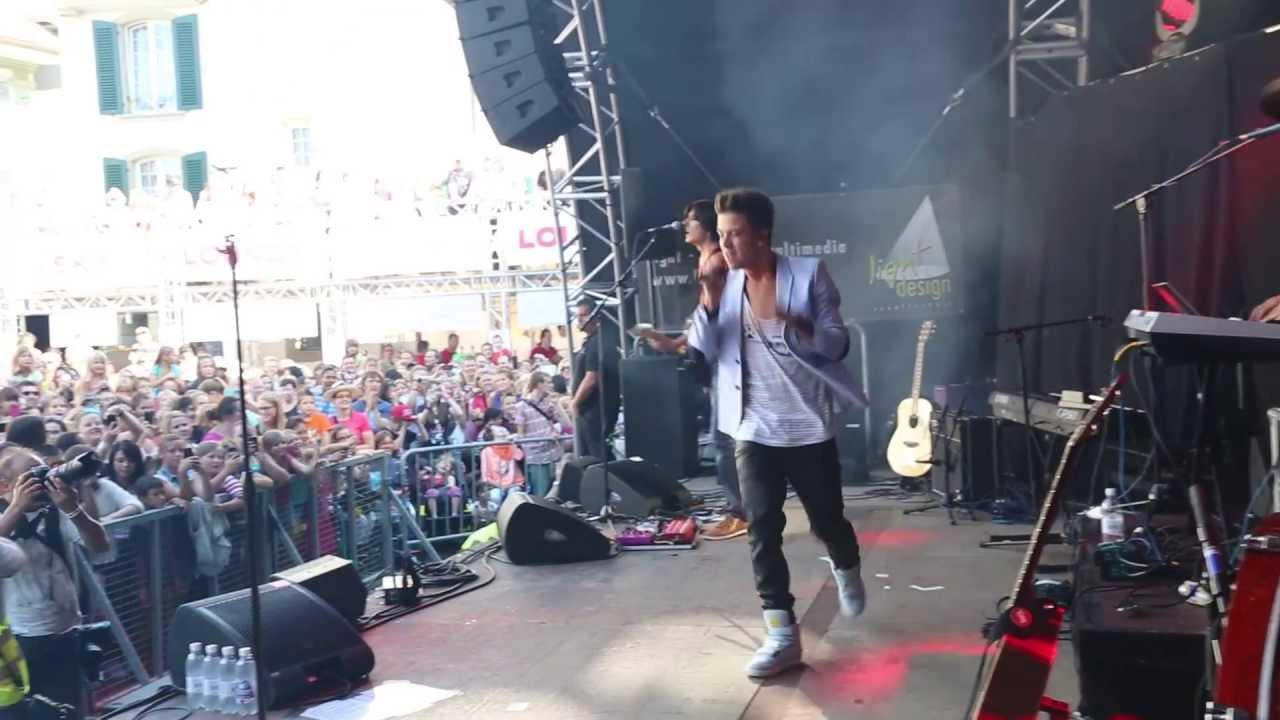 Luca Hänni live
