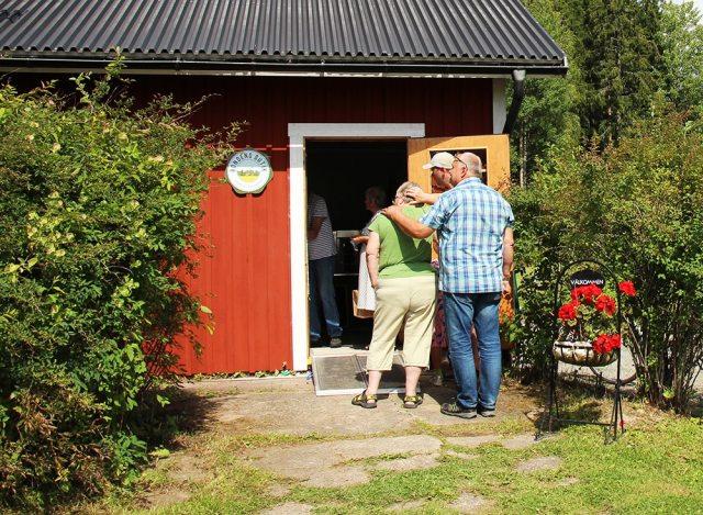 Gårdsbutiken på Fallängetorp.