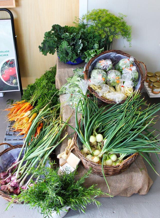 Grönsaker.