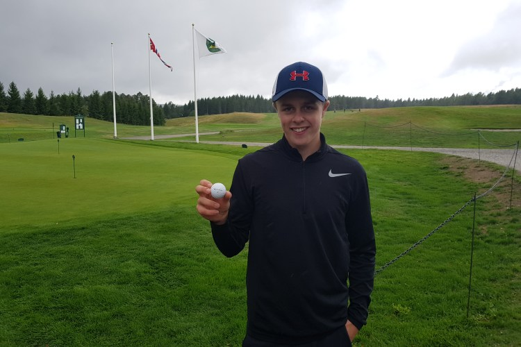 HOLE IN ONE I KLUBBMESTERSKAP Junior 2018!