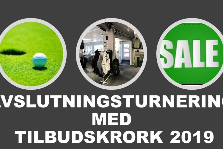 AVSLUTNINSTURNERING 2019 – PÅMELDING ÅPEN!