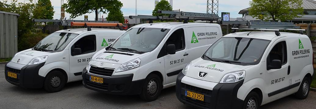 Grøn Polerings Biler