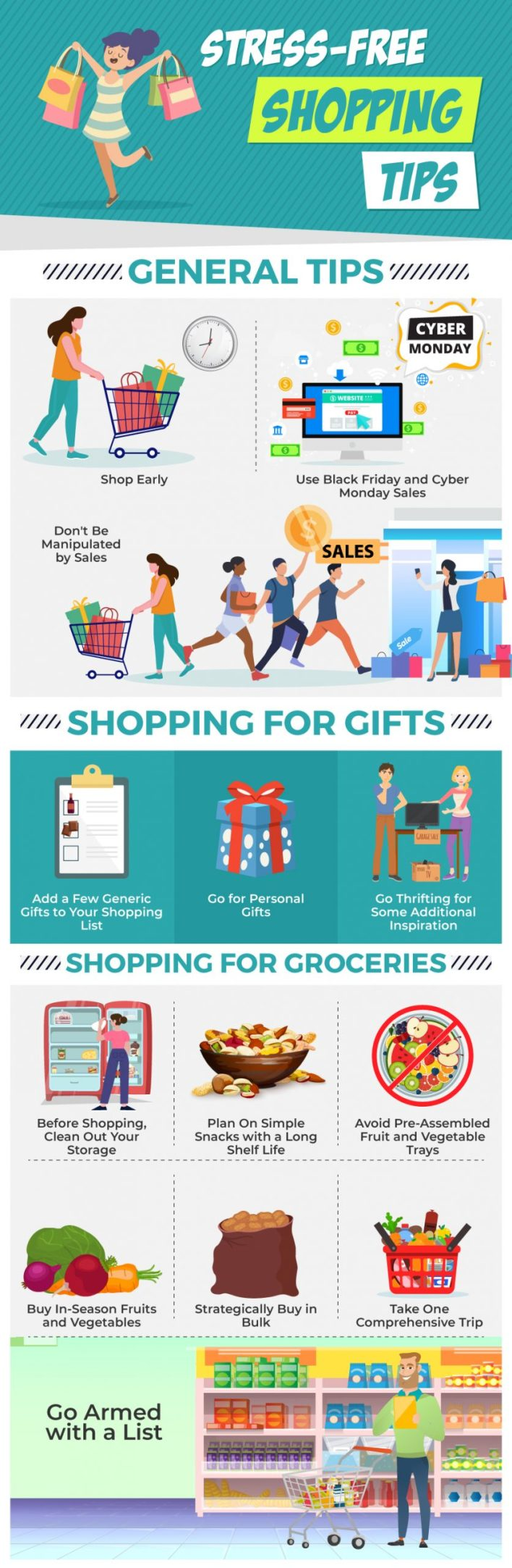 Stress-Free Shopping Tips