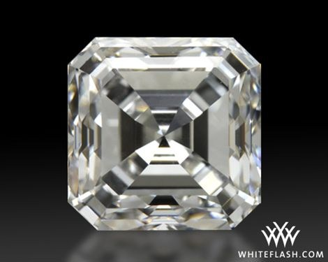 Asscher cut diamonds represent feminism